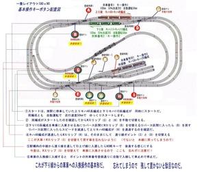一畳レイアウト基本線路図4