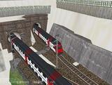 スイス国鉄IC2000二階建て客車1