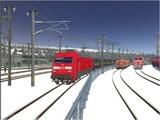 雪景色完成その8 DBBRe101-1