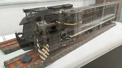 鉄博82−DD14ラッセル車