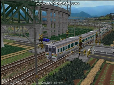 越河レイアウト電車シリーズ76-211系二階建て6