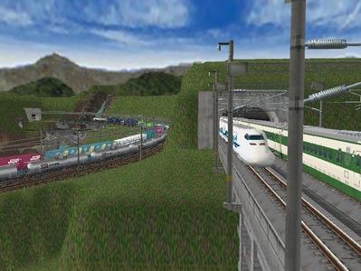 新幹線本線部分制作途中4