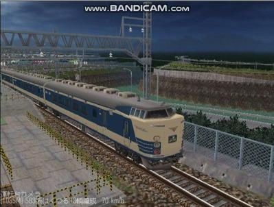 越河レイアウト夜汽車シリーズ3-583系はくつる2