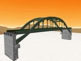 中路式アーチ橋12