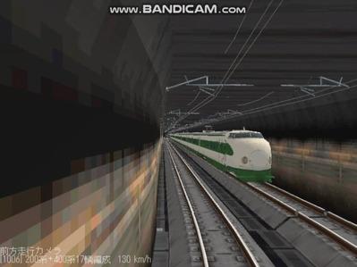 越河レイアウト東北新幹線200系6