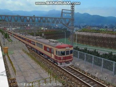 越河レイアウト特急シリーズ14-157系貴賓車3