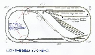 VRM3版貨物レイアウト鉄道博物館改造1