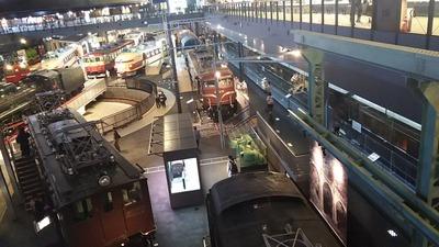 鉄道博物館1階車両コーナー2