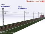 IMAGIC 単線架線柱鉄骨型A 128�斜め2.