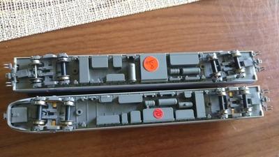 KATO E351系スーパーあずさ台車部分1