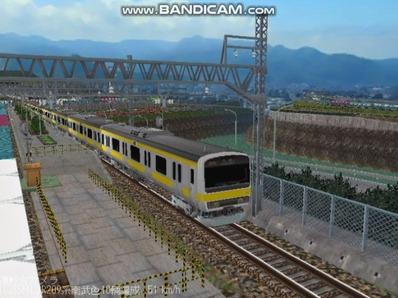 越河レイアウト電車シリーズ77-209系500番台3
