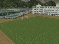 越河駅レイアウト高校サッカーグランド10