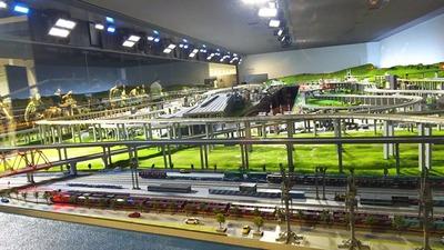 京都鉄道博物館5ジオラマ3