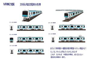 209系JR直流電車水色VRM2版1