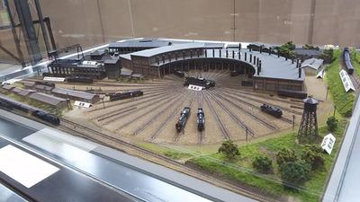 京都鉄道博物館173-梅小路転車台ジオラマ2