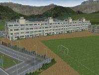 越河駅レイアウト高校サッカーグランド1