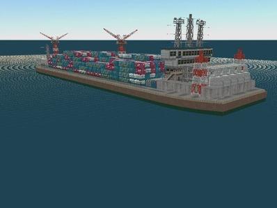 仮想日本海縦幹線雪景色海岸線完成9船