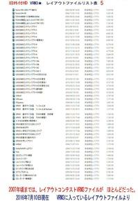 旧VRM3★レイアウトファイルリスト表5