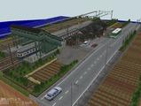 跨線橋の駅部品レイアウト720x480その3