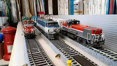 HOゲージ実況EF66JR貨物更新色入換動画2