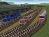 Nゲージレイアウト貨物ローカル線21