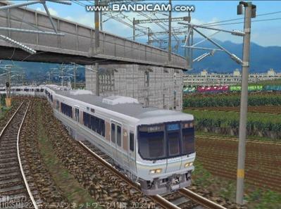 越河レイアウト電車シリーズ68-223系1000番台5