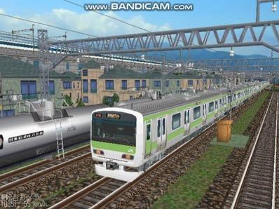 越河レイアウト電車シリーズ74-E231系山手線1