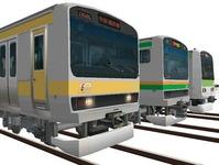 109 E231系カナリア色総武線2