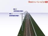 IMAGIC 単線架線柱鉄骨型A 128�正面上3