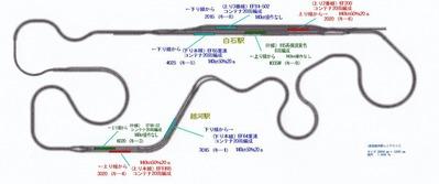 東北本線越河駅レイアウト図14