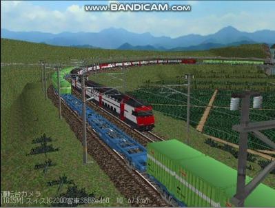 越河レイアウト特急シリーズ56-スイス国鉄IC-2000-8