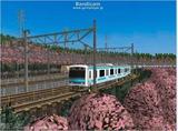 進撃の通勤電車37  JR209系ブルー3