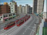 市電レイアウトドイツ気動車DB-DMU644-11