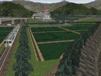 新幹線本線越河本線部分制作20