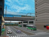 3欲張り新幹線レイアウト踏切道部分77