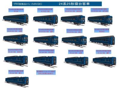 VRM3版24系25形寝台客車A