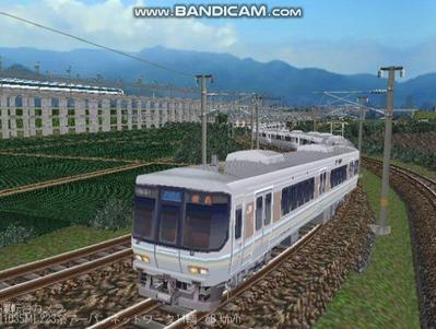 越河レイアウト電車シリーズ68-223系1000番台2