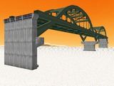 中路式アーチ橋2