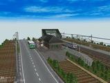 跨線橋の駅部品レイアウト720x480その4