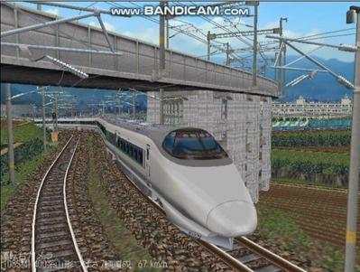 越河レイアウト特急シリーズ60-400系つばさ山形新幹線5