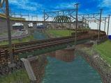 畳2枚細長レイアウト3600x900デッキガータ橋8