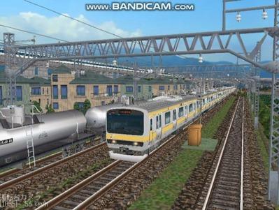 越河レイアウト電車シリーズ73-E231系総武線1