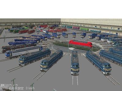 VRM3版車両博物館機関車ターンテーブル3