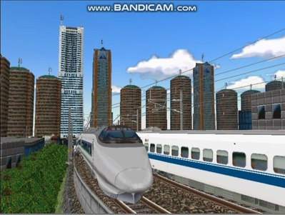 新幹線勾配区間走行400系-1