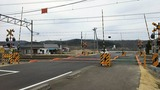 東北本線新白石街道中島踏切X2方向1