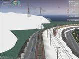 雪景色完成その26見張線13