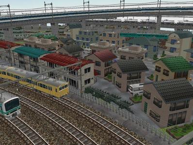 KATOユニトラックレイアウトプラン右側住宅4