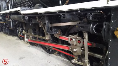 91-D50-140動輪部分から6梅小路機関庫5
