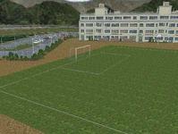 越河駅レイアウト高校サッカーグランド17