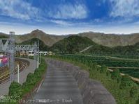 東北本線越河駅周辺情景3